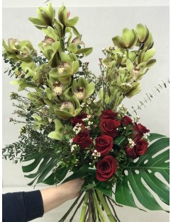 GREEN CYMBIDIUM