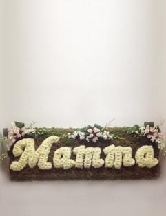 FLORAL SCRIPT MAMMA
